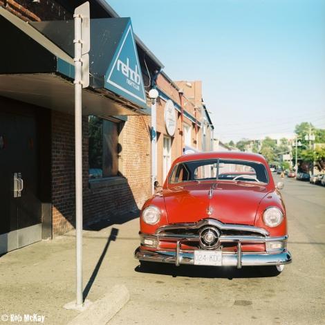 1950 Ford Vintage Car - Rolleiflex