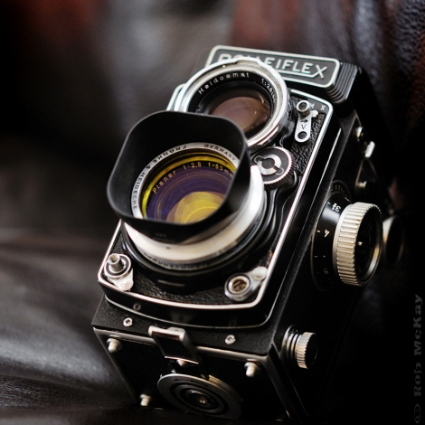 Rolleiflex Planar f/2.8 80mm Medium Format TLR Camera