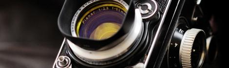 Rolleiflex Planar f/2.8 80mm Medium Format TLR Camera