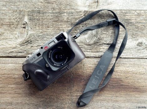 Leica M9 Mr Zhou case and 28mm Elmarit lens