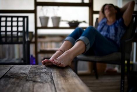 Bare Feet Bokeh