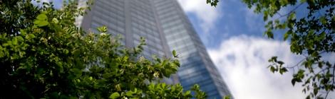 Bokeh Skyscrapers Calgary