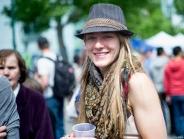 Does like a photo - Calgary Lilac Festival