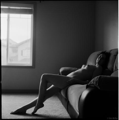 Black & White Fine Art Nude Calgary