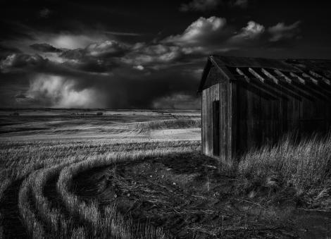 Stormy Skies Alberta Prairies
