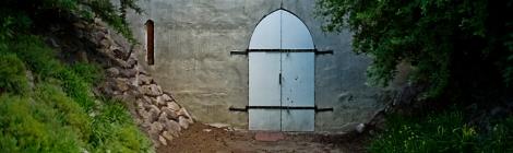 Scary Basement Door