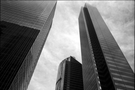 Bow Tower Architecture - Calgary in Film
