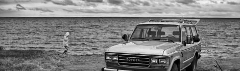 On The Beach Toyota Land Cruiser FJ62