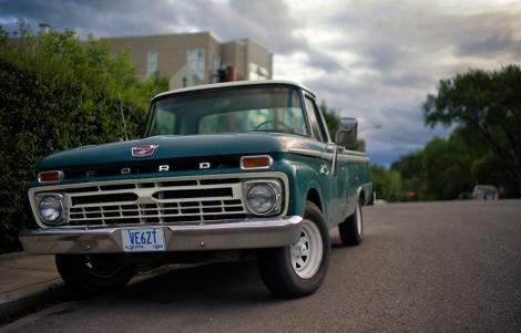 Vintage Ford Pickup Truck