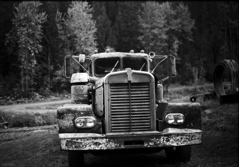 Old canadian kenworth truck