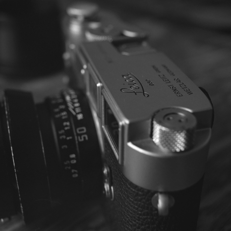 Leica M3 black and white
