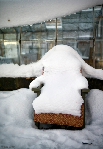 Lawn Chaire Snowed In