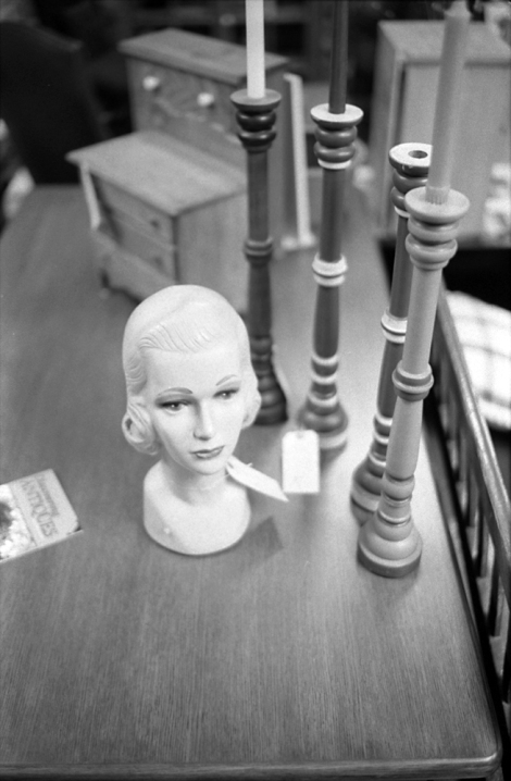 Interesting Antiques in B&W