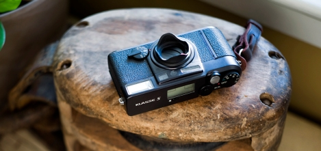 Fujifilm Klasse S analog point and shoot camera