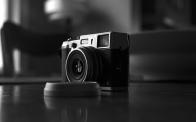 The Fuji Klasse S shooting the Fuji X100S. Expired Kodak Tmax 400 film