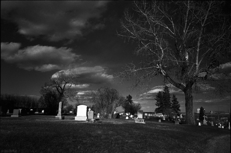 Graveyard Skies - Leica MP