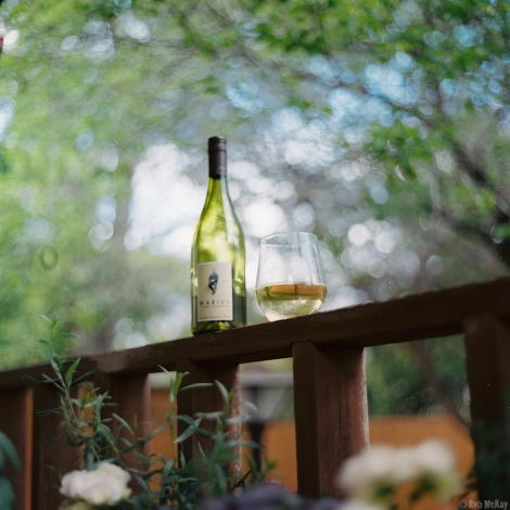 Wine Bottle Bokeh
