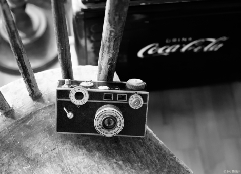 This Argus C 1939 Vintage Film Camera was photographed using the Sony A7R and 50mm Leica Summicron Lens using a $12 adapter..