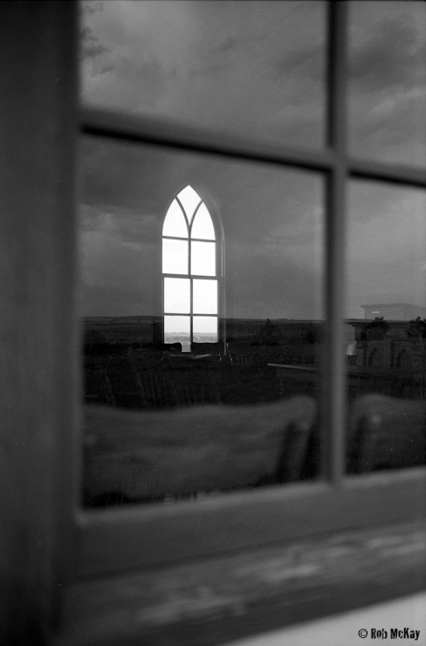Church window, Leica MP