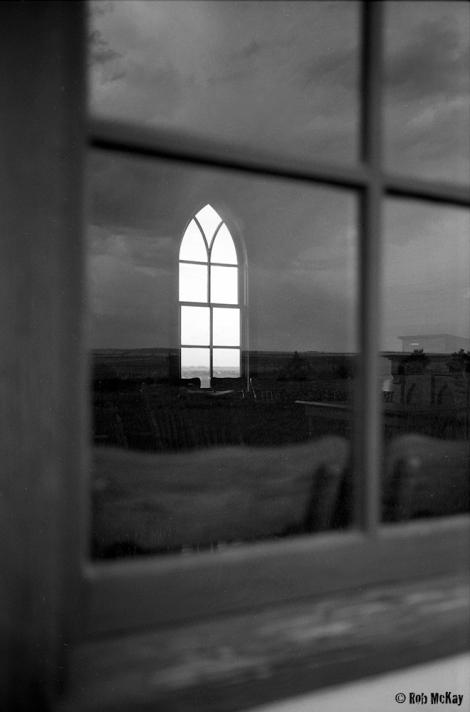 Church window, Leica MP