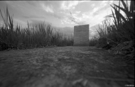 Headstone, Graveyard, Leica MP