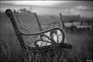 Old Iron Bench, Leica MP