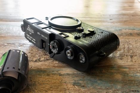 Custom Leica M3 Black Paint