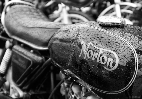 Norton Commando Motorcycle