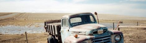 Portra Film + 1950's Mercury Pickup Truck