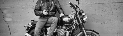 Rob McKay - Triumph Bonneville T100 Black
