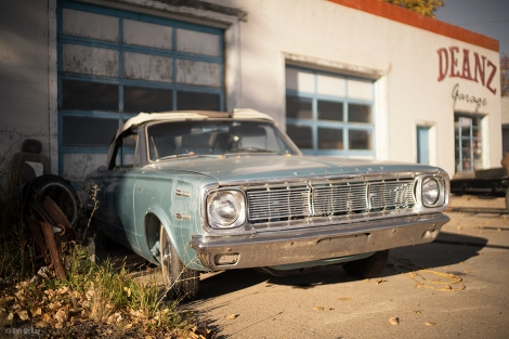 DEANZ Garage - Plymouth Valiant Convertible @ DEANZ Garage