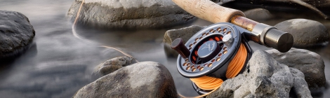 Fly Fishing Rods & Reels & Ricoh GR Camera