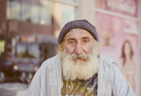 Street Portrait Expired Film